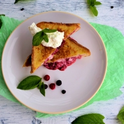 French Roast with Raspberries