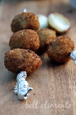 Fried Olives Filled w/Cheese