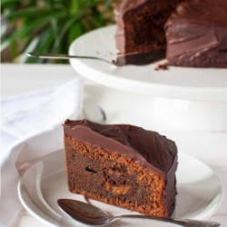 Fudgy Chocolate Mud Cake