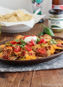 Game Day Loaded Nachos