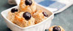 GF Blueberry-Coconut Macaroons