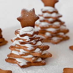 Gingerbread Cookie Trees Recipe