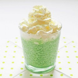 Healthy, Spiked Shamrock Shake