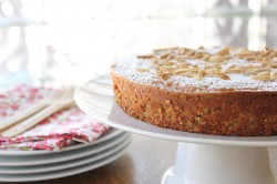Heavenly Almond Cake