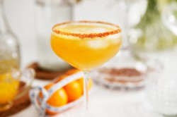 Holiday Cocktail with Rum