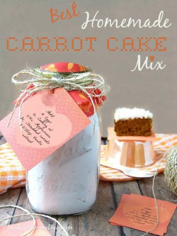 Homemade Carrot Cake Mix
