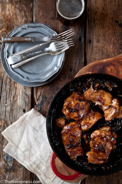 Honey Chili Beer Chicken Recipe