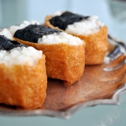 Inari Sushi with Seasoned Nori