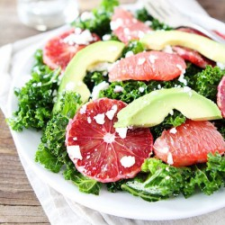Kale Salad with Citrus