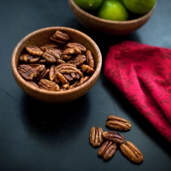 Key Lime Crusted Pecans Recipe