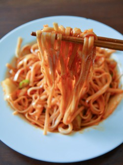 Korean Cold and Spicy Noodles