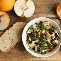 Korean Pear and Kale Salad