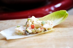 Light and Creamy Crab Salad