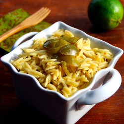 Lime Orzo Recipe