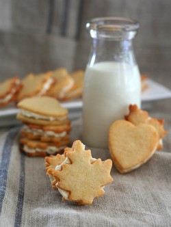 Maple Cream Sandwich Cookies