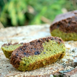 Matcha Breakfast Cake