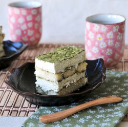 Matcha Japanese Green Tea Tiramisu