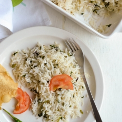 Methi Pulav Fenugreek Rice Recipe