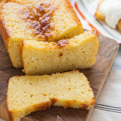 Meyer Lemon-Greek Yogurt Pound Cake