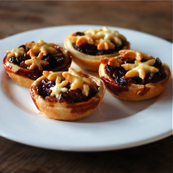 Mince Pies w/ Brandy Butter