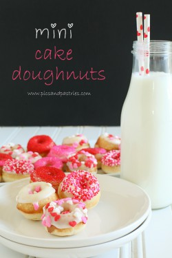 Mini Baked Doughnuts with Vanilla Glaze Recipe