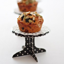 Mini Fruit Cakes with Bread flour