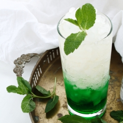Mint Ginger Melon Cocktail Recipe