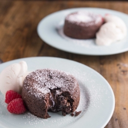 Molten Chocolate Nutella Lava Cakes Recipe