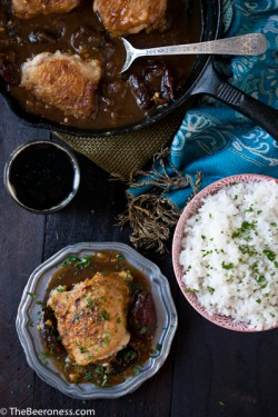 Moroccan Stout Chicken