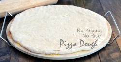 No Knead, No Rise Pizza Dough