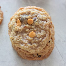 Oatmeal Raisin Butterscotch Cookies