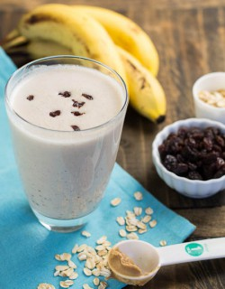 Oatmeal Raisin Protein Shake Recipe
