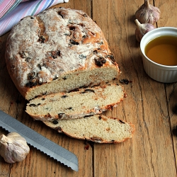 Olive Sun Dried Tomatoes Bread Recipe