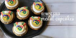 Olympic Gold Medal Cookies and Cream Cupcakes Recipe
