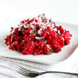 One-Pot Beet Rice Pilaf