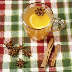 Orange Spiced Hot Apple Cider Recipe