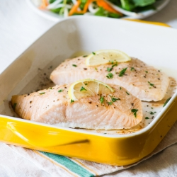 Oven Baked Salmon Recipe