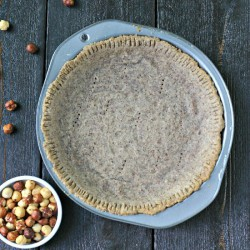 Paleo Hazelnut Pie Crust