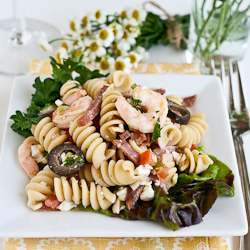 Pasta Salad with Shrimp