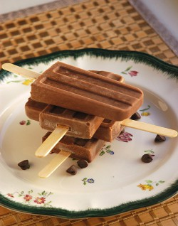 Peanut Butter Fudgesicles Recipe
