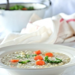 Pearled Barley Soup Recipe