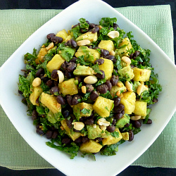 Pineapple Kale Salad