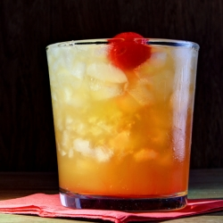 Pineapple Upside Down Cake Cocktail Recipe