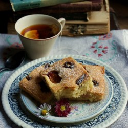 Plum and Dactyl Cake