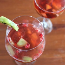 Pomegranate Kiwi Bellinis