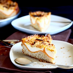 Pumpkin and Cream Cheese Cake