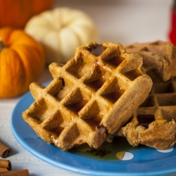Pumpkin Spice Latte Waffles Recipe