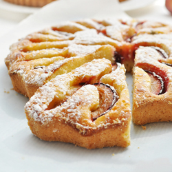 Quick Cake with Plums
