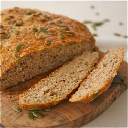 Quick Irish Oatmeal Bread