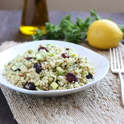 Quinoa parsley Lemon Salad Recipe